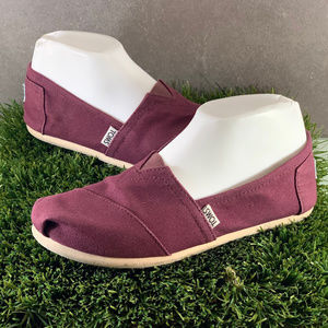 Women's TOMS Fabric Slip On Shoes Size 7